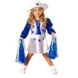 Halloween Costume Dallas Cheerleader Toddler Girl 2T 4T