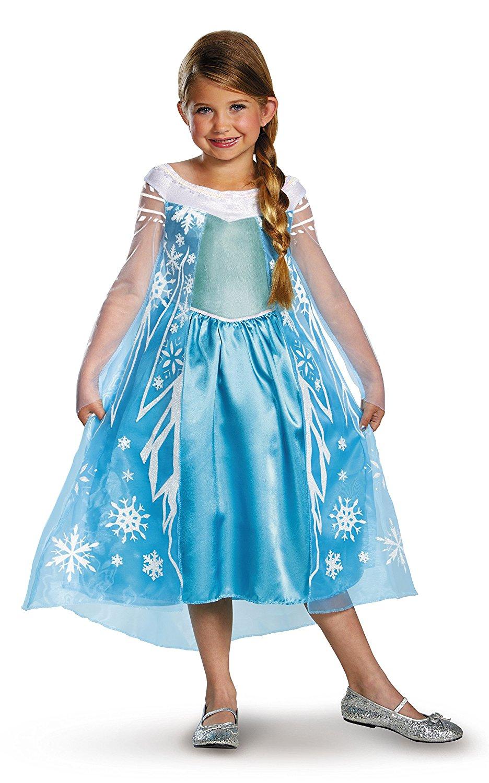 elsa from frozen girls costume